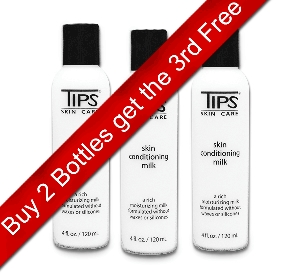 TIPS ® Skin Conditioning Milk Buy 2 Get 1 Free